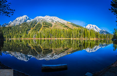 Leigh Lake Panorama (Wycpl) Tags: