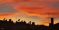 Fim de tarde (antoninodias13) Tags: serenidade fimdetarde nuvens silhuetas céu huaweimate20pro queluzdebaixo lisboa portugal