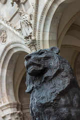 House of Parliament (Behind Budapest) Tags: 2019 70d budapest canon houseofparliament hungary magyarorszag orszaghaz parlament building city detail epulet fragment lion oroszlan outdoor outdoors outside statue szobor town urban 365project