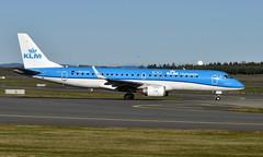 KLM PH-EZA, OSL ENGM Gardermoen (Inger Bjørndal Foss) Tags: pheza klm embraer erj190 osl engm gardermoen
