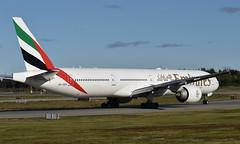 Emirates A6-EBG, OSL ENGM Gardermoen (Inger Bjørndal Foss) Tags: a6ebg emirates boeing 777 osl engm gardermoen