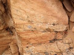 Cross-bedded sandstone (Glen Canyon Sandstone, Upper Triassic to Lower Jurassic; Dinosaur National Monument, Utah, USA) 11 (James St. John) Tags: glen canyon sandstone dinosaur national monument utah navajo nugget quartzose sandstones triassic jurassic cross bedding beds bedded crossbedding crossbedded crossbeds