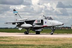 SEPECAT Jaguar GR3A XZ398/EQ (MichaelHind) Tags: sepecat jaguar gr3a xz398 royal air force 6 sqn raf coningsby aug 2006 royalairforce aviation