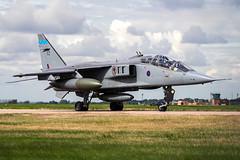 SEPECAT Jaguar T4 XX835 (MichaelHind) Tags: sepecat jaguar t4 xx835 royal air force 6 sqn raf coningsby aug 2006 royalairforce aviation