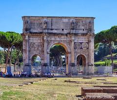 Arch of Constatine (Per@vicbcca) Tags: rome italy koningsdam cruise tourism tourist ilce7m2 sony fe24105mmf4goss archofconstatine romansenate triumphalarch