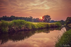 Sunset at the River (Stathis Iordanidis) Tags: river niers nrw wachtendonk riverside romantic sunset sundown nature silence serenity tranquility amazing landscape unlimitedphotos