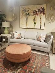 256 Crescent Sofa (Brian's Furniture) Tags: 256 crescent sofa curved 256curvedsofa smithbrothers fallmarket 2019 roundottoman nailheadsalongbaseband