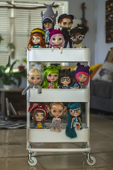 Sightseeing around the house! (Dolly Adventures in the Galland Household) Tags: blythe doll custom collectibles childhood cute collectors collection group takara dollartistry dollphotography mayragallandcustomdolls tiina banochita splattergirluk sandraefigenio