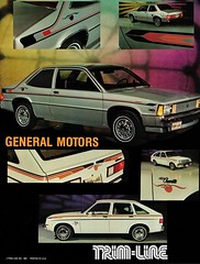 Trim-Line Striping - General Motors (aldenjewell) Tags: 1981 chevrolet citation chevette trimline striping brochure