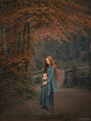 Autumn has arrived! (Aga Wlodarczak) Tags: outdoors outdoorportrait naturallight child children childportrait childphotography childhood autumn red redhair fall fineart canon canon6d canoneos6d 135mmf2 135mm