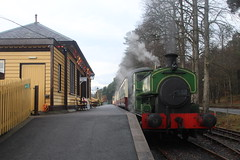 Photo of 2018-12-30; 0078. Andrew Barclay 0-6-0ST No. 2139 Salmon. Royal Deeside Railway, Milton of Crathes.
