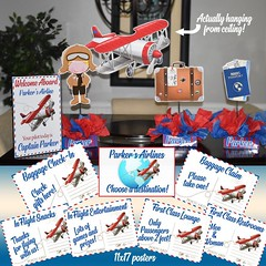 Airplane Birthday Party Centerpieces Shower Aeroplane (playpatterns) Tags: aeroplane centerpieces birthdayparty shower birthday airplanes airplane