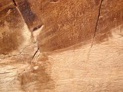 Cross-bedded sandstone (Glen Canyon Sandstone, Upper Triassic to Lower Jurassic; Dinosaur National Monument, Utah, USA) 16 (James St. John) Tags: glen canyon sandstone dinosaur national monument utah navajo nugget quartzose sandstones triassic jurassic cross bedding beds bedded crossbedding crossbedded crossbeds