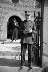 052 (boeddhaken) Tags: backintime timetravel 1900 1900s blackwhite bw retro retrostyle museum cop police