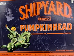 2019 Pumpkinhead Ale Beer - Sleepy Hollow Refugee Headless 5079 (Brechtbug) Tags: 2019 pumpkinhead ale beer sleepy hollow refugee headless carousel horseman bryant park behind new york public library october halloween night west side manhattan midtown 10092019 dummy costume mannequin ghost monster creature goblin wooden horse ride funhouse amusement jack o lantern pumpkin head cloak evening nite knight soldier hessian german holiday