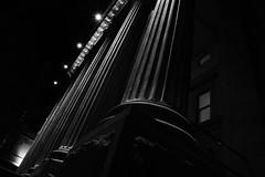 Capitol Monochrome (Tony 5) Tags: blackwhite monochrome city street art architecture building column noir earie time artdeco style class life dark nightshoot night star burst light design sky nightsky photography photo photoart capture reallife real window steps theatre stage office