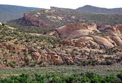 Glen Canyon Sandstone (Upper Triassic to Lower Jurassic; Dinosaur National Monument, Utah, USA) 27 (James St. John) Tags: glen canyon sandstone dinosaur national monument utah navajo nugget quartzose sandstones triassic jurassic