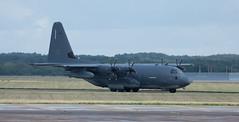 DSC_0450 (Trev 'Big T' Hurley) Tags: usaf aeroplane rafmildenhall aviation c130j herc hercules fatalbert turboprop