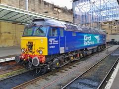 Resting Bodysnatcher (JohnGreyTurner) Tags: br rail uk railway train transport 57 class57 bodysnatcher 47 class47 brush type4 duff carlisle cumbria diesel engine locomotive
