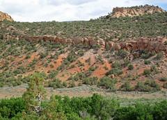 Glen Canyon Sandstone over Chinle Formation (Dinosaur National Monument, Utah, USA) 9 (James St. John) Tags: glen canyon sandstone dinosaur national monument utah navajo nugget quartzose sandstones triassic jurassic chinle formation