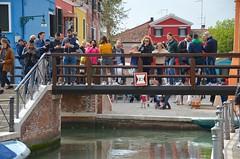 Sue & The Kids On Pont Rio della Giudecca (Joe Shlabotnik) Tags: canal venice everett bridge april2019 sue venezia burano italia italy 2019 violet afsdxvrzoomnikkor18105mmf3556ged