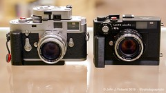 Leica M2 and Leitz Minolta CL set up (JRPhotographyBC) Tags: leica leicam leitzminolta leitzminoltacl summicron summicron50 summicron50mm dualrange summicrondualrange summicron50mmdr leicam2 voigtlander nokton40mm