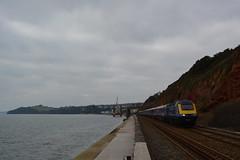 43140 Dawlish Sea Wall 12/02/15 (yamdood91) Tags: 43140 43 2015 fgw first great western railway devon dawlish class