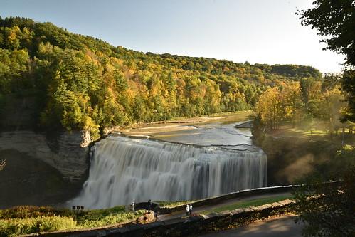 Autumn Water Fall
