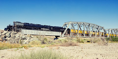 union pacific 4014. afton canyon, ca. 2019. (eyetwist) Tags: eyetwistkevinballuff eyetwist mojavedesert aftoncanyon train steam locomotive up4014 bigboy 4014 unionpacific uprr 4884 classic historic 1941 america industry mojave desert rail railroad nikon nikond7000 d7000 nikkor capturenx2 1024mmf3545g nikcolorefexpro california railway transport up pacific union boy big bigboy4014 upbigboy american west trestle bridge river