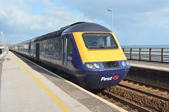 43154 Dawlish 15/10/15 (yamdood91) Tags: 2015 43 43154 class hst fgw first great western railway dawlish devon