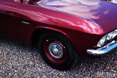 corvair 500 (Hi-Fi Fotos) Tags: chevrolet corvair 500 60s vintage american classic car gm maroon burgundy deep red chrome nikon d7200 dx hififotos hallewell