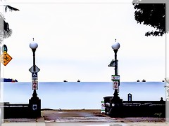 This Way and That Way! (Marcia Portess-Thanks for a million+ views.) Tags: neighbourhood hometown vista view scenic citystreet street lampposts barcos water agua calmwater shipsatsea ships signs pathway lamps westend city urban urbano urbanbeach playa beach mar bahia bay saltwater ocean sea britishcolumbia canada vancouver englishbay marciaaportess marciaportess map thiswayandthatway