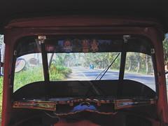 Inside of Auto-rickshaw in Bentota, Sri Lanka (yhila) Tags: faith transport bentota srilanka