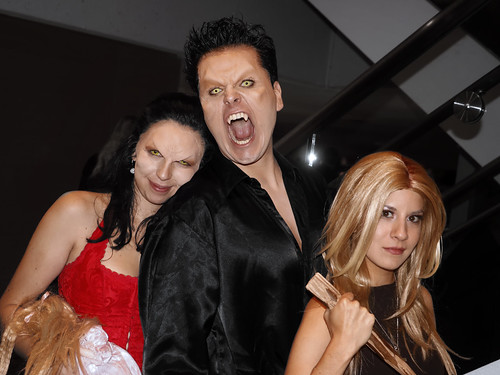 Drusilla, Angelus, and Buffy