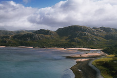 hills sky & beaches (johnny_9956) Tags: scotland beach sand sea water hills mountains landscape seascape sky canon