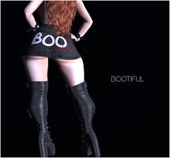 "top+skirt ""bootiful"" (KoyukiKytori) Tags: secondlife secondlifeevent event uncharted unchartedevent 3dgame avatar avatarfashion secondlifefashion koyuki halloween mesh セカンドライフ"