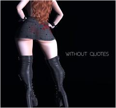 top+skirt without quotes (KoyukiKytori) Tags: secondlife secondlifeevent event uncharted unchartedevent 3dgame avatar avatarfashion secondlifefashon hallween mesh セカンドライフ koyuki