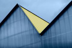 Angles II (jefvandenhoute) Tags: belgium belgië brussels brussel light shapes geometric blue