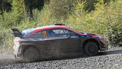 Hyundai 120 Coupe WRC - Neuville (rallysprott) Tags: sprott wdcc rallysprott 2019 wales rally gb penmachno 2 forest rallying motor sport wrc nikon d7100 hyundai 20 neuville