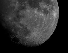 Tonight's Moon 09/10/2019 (Zircon_215) Tags: moon luna tonightsmoon 09102019 solarmaxiii70mm zwo asi 183 mm pro mono