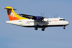 DRUKAIR Royal Bhutan Airlines / ATR 42-600   F-WWLL   msn 1411 / LFBO - TLS / oct 2019 (gimbellet) Tags: canon nikon spotting spotter boeing blagnac lfbo planes transport transportation toulouse tls toulouseblagnac airbus a330 a380 airplanes a320 a340 aircraft aviation avions atr airport a350 aeroport aeronautique airplane aeroplane 42 atr42