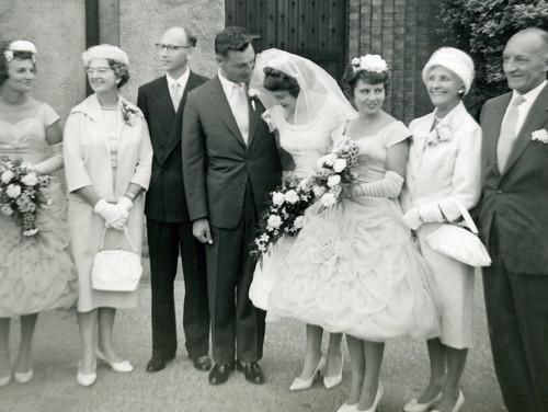 Avril, Elsie, Wally, Clive, Christina, Gwyn, Elizabeth & Max