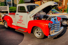 Fine old Chevy (kendoman26) Tags: htt happytruckthursday hdr nikhdrefexpro2 chevypickup september2019morrisilcruisenight sonyalpha sonyphotographing sonya6000 selp1650