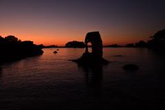 France - Bretagne - côte de Granit Rose - Ploumanach - oratoire de la plage Saint-Guirec (AlCapitol) Tags: france bretagne nikon d850 coucherdesoleil sunset côtedegranitrose côtesdarmor plagesaintguirec oratoire ploumanach