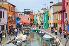 Rio San Mauro (Joe Shlabotnik) Tags: italia venezia 2019 italy boats canal april2019 venice burano afsdxvrzoomnikkor18105mmf3556ged