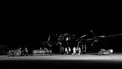 Bombing Up (davepickettphotographer) Tags: eastkirby airfield uk england lincolnshire lincolnshirewolds justjane timeline events timetravel east night photography raf waaf heritage centre lincolnshireheritageaviationcentre vintage scenes bomber base secondworldwar reenactment reenactors reenactor uniform uniforms lancaster avro bombingup loading weapons