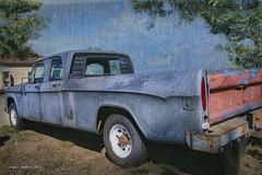 Dodge Craft!   ...HTT! (jackalope22) Tags: htt dodge blue truck wyoming