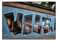 STREET ART by VILE GRAFFITI (StockCarPete) Tags: streetart londonstreetart vile vilegraffiti urbanart graffiti londongraffiti shoreditch london uk wallart londonpublicart