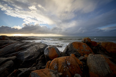 Conversation39 (Keith Midson) Tags: bridport coast coastline shoreline shore sea ocean tasmania canon 5dsr sky sigma 1224mm rocks coastal waves wave sunset