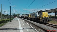Lineas 7775 + 7780, Deventer (Jona Brans) Tags: lineas hlr77 lna lns 7700 7775 7780 deventer dolimetrein dolime dolimiet dolimiettrein omgeleid goederentrein freight train güterzug trains zug züge trein treinen